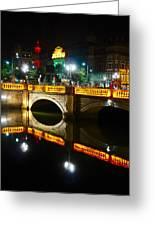 O'connell Bridge Greeting Card