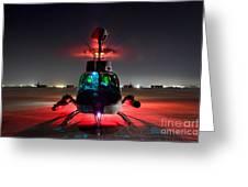 Oh-58d Kiowa Pilots Run Greeting Card