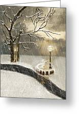 Oh Let It Snow Let It Snow Greeting Card