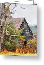 Old Barn At Cades Cove Greeting Card