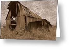 #210 Old Barn Greeting Card