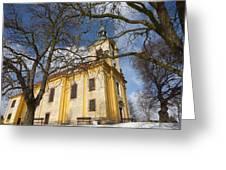Old Church Greeting Card