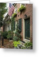 Old City Philadelphia Greeting Card