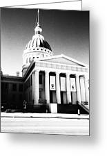 Old Courthouse Greeting Card