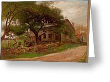 Old Farm House In The Catskills Greeting Card