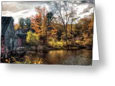 Old Mill Boards Greeting Card