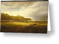 Old Orchard At Newport Greeting Card