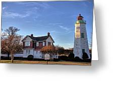 Old Point Comfort Lighthouse Greeting Card