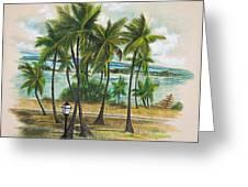 Old San Juan - Morro Greeting Card