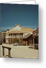 Old Tucson Greeting Card