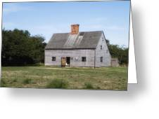Oldest House - Nantucket Massachusetts. Greeting Card