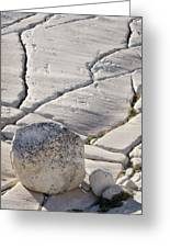 Olmstead Rock And Cracks 2 Greeting Card