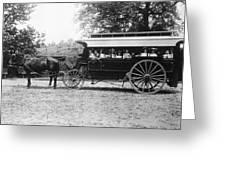 Omnibus, C1899 Greeting Card