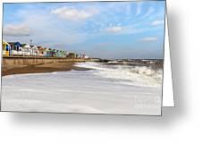 On A Beach Greeting Card