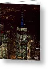 One World Trade Center In New York City  Greeting Card