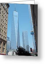 One World Trade Center 4 Greeting Card