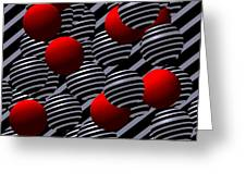 Opart -g- Greeting Card