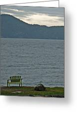 Orcas Island View Greeting Card