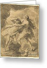 Orpheus And Eurydice Greeting Card