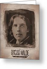 Oscar Wilde 01 Greeting Card