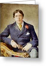 Oscar Wilde, Literary Legend Greeting Card