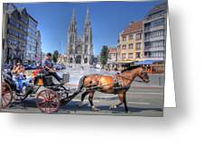 Ostend Belgium Greeting Card