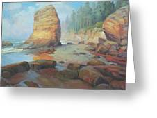Otter Rock Beach Greeting Card