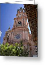 Our Lady Of Guadalope, Puerto Vallareta Greeting Card
