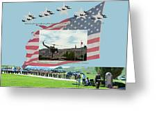 Our Memorial Day Salute Greeting Card