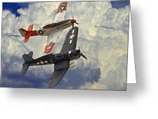 Over The Clouds Greeting Card by Steve K