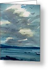 Pacific Seascape Greeting Card