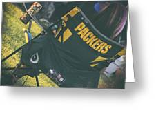 Packers Fan Greeting Card