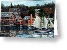 Paint Factory, Gloucester, Ma Greeting Card
