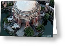 Palace Of Fine Arts Theatre In San Francisco Greeting Card