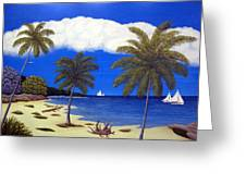Palm Bay Greeting Card