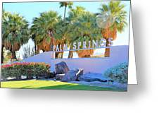 Palm Springs Welcome Greeting Card
