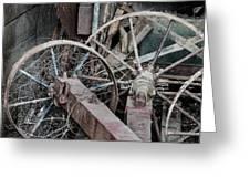 Palouse Farm Wheels 3156 Greeting Card