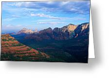 Panoramic View, Sedona, Arizona Greeting Card