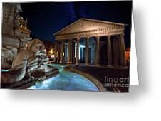 Pantheon Rome Greeting Card