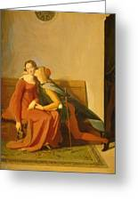 Paolo And Francesca Greeting Card