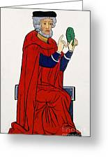 Paracelsus, Swiss Doctor And Alchemist Greeting Card