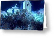 Paros Island Beauty Greece  Greeting Card by Colette V Hera Guggenheim