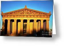 Parthenon In Nashville Greeting Card