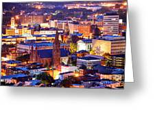 Paterson New Jersey Greeting Card