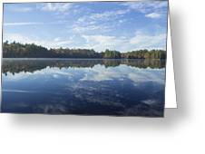 Pauper Lake Reflections Greeting Card