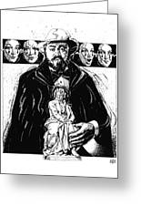 Pavarotti, Fidelio, Inking Greeting Card
