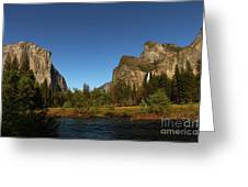 Peaceful Merced River Greeting Card