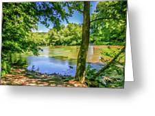 Peaceful On The River Greeting Card