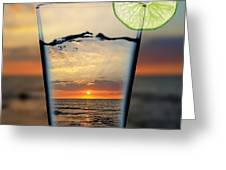 Peaceful View Greeting Card