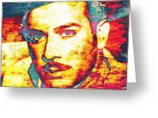 Pedro Infante Greeting Card